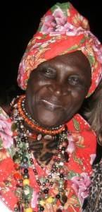 Maria Laurinda Adão, grande personalidade da cultura capixaba. Foto: Divulgação
