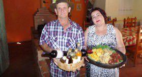 Gilber e Helana garantem que está tudo pronto para a festa