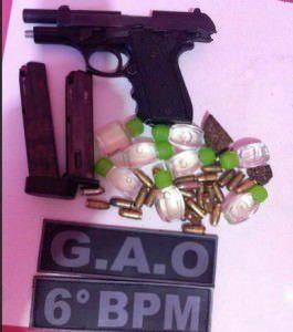 Parte do material apreendido pela Polícia Militar. Foto: Divulgação PMES