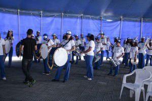 Bandas marciais do Programa mais Educação se apresentam dia 29