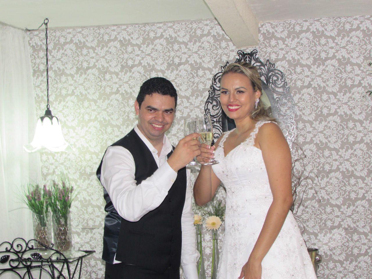 Casamento de Lindomar e Valeria
