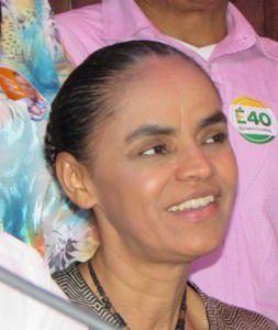 A então candidata Marina Silva esteve na Serra durante a campanha
