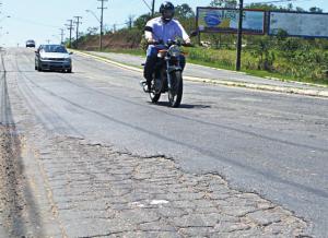 Situação da Norte Sul oferece riscos e prejuízos aos condutores