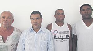 Sebastião, Oswaldino, Antônio e Helton: Sindicato dos Servidores diz que medida é ilegal