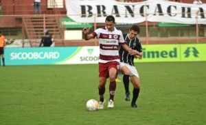 Desportiva Ferroviária e Rio Branco 4x2  Desafio Preto e Grená 2014