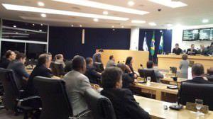 PLENÁRIO. O tema gerou polêmica em sessão na última semana