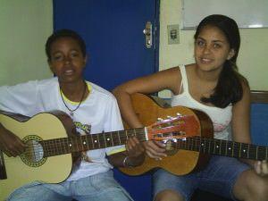Também há oportunidades de iniciação musical para crianças e adolescentes. Foto Arquivo TN