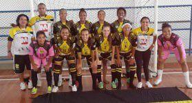 Time campeão do Estadual de Futsal Feminino. Foto: Divulgação