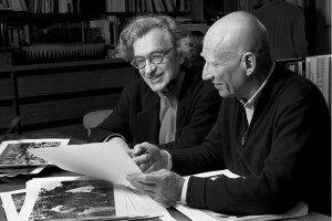 O alemão Wim Wenders (Pina 3D) e o fotógrafo Sebastião Salgado. Foto: Divulgação:  Donata Wenders