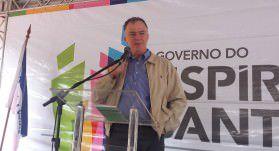 O governador Renato Casagrande (PSB) vem à Serra nesta quinta-feira (18). Foto: Conceição Nascimento