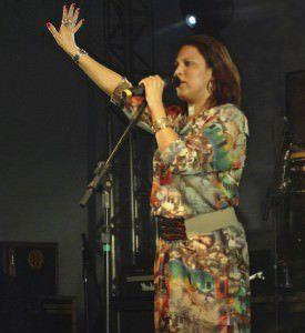 A cantora Viviane Miranda é a atração de hoje (10) do Mercearia Botequim, em Laranjeiras. Foto: Divulgação