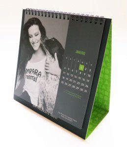 O calendário custa apenas R$ 20, mais o valor do frete. Foto: Divulgação