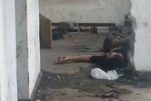 Segundo sua mãe, Ednailton era usuário de drogas e estava morando com uma mulher na construção abandonada. Foto: Eci Scardini