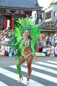Uma das novidades da Tradição é a rainha Kokomayazaki que vem diretamente do Japão para o carnaval da agremiação serrana. Foto: Divulgação