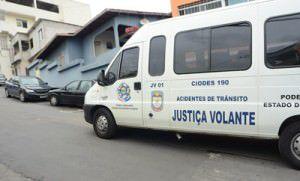 A van da Justiça ficará no posto da Polícia Rodoviária Estadual em Manguinhos. Foto: Divulgação.