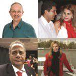 Hartung, o casal Vidigal, Manato e Ana Paula Vescovi: a dança das cadeiras