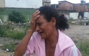 Maria Isabel se emocionou ao ver o corpo do filho. Foto: Eci Scardini