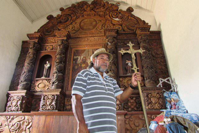Moradores mais velhos e figuras históricas contam que fantasmas vivem na igreja e até hoje assombraram a região. Foto: Fábio Barcelos