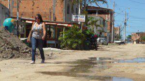 A situação da rua é precária e não há previsão de melhoria. Foto: Fábio Barcelos