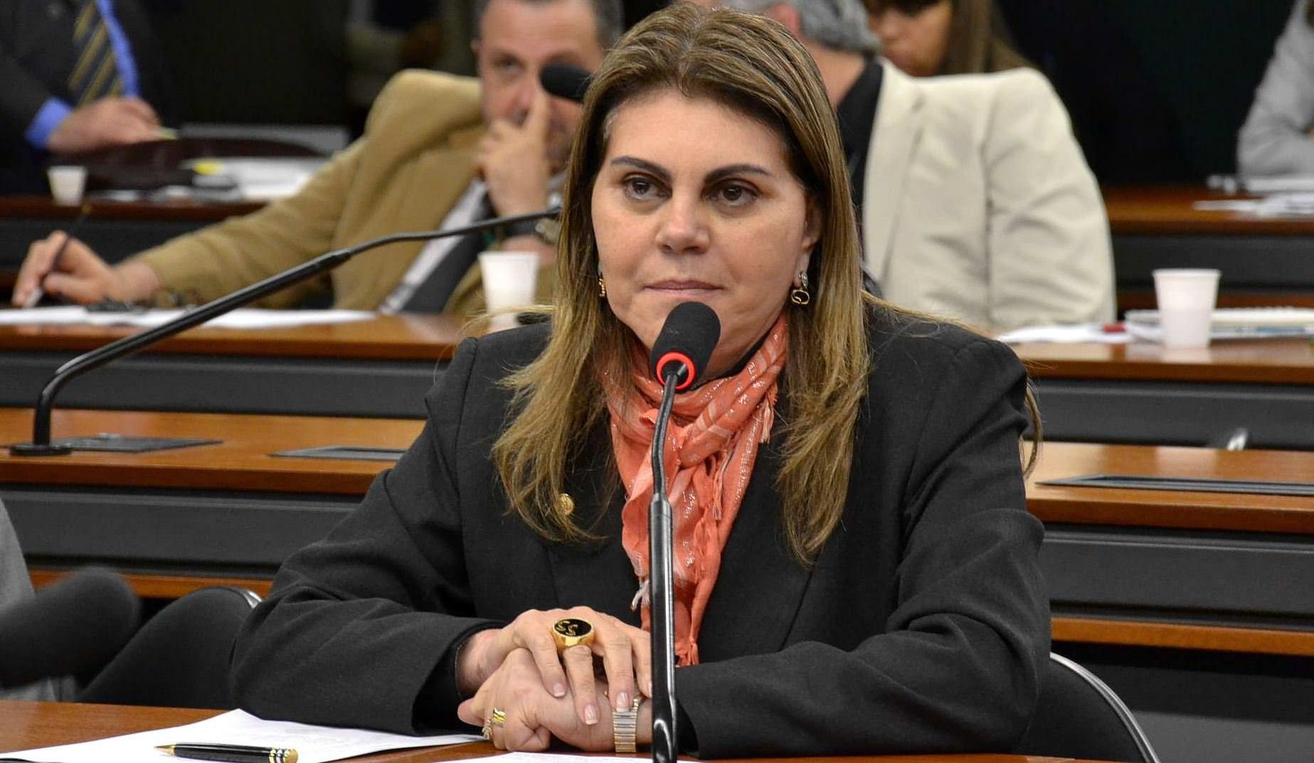 Suely abriu mão de concorrer à Câmara Federal em favor do marido Sérgio Vidigal e ficará com a Assistência Social na gestão Hartung. Foto: Divulgação / PDT