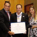 O empresário Betinho Sartório foi homenageado com o título de cidadão espíritossantense