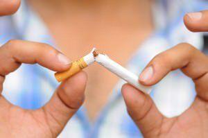O paciente que quiser parar de fumar pode procurar a unidade de saúde mais próxima da sua casa. Foto: Divulgação