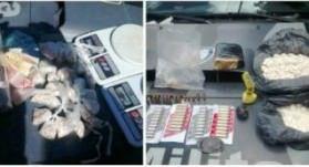 Drogas e munições apreendidas na Serra. Foto: divulgação