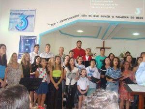 O repertório do Coro  será regado a temas natalinos. Foto: Divulgação.