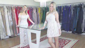 Lúcia e Fernanda Montagnoli da loja Flor de Laranjeira prezam pela qualidade no atendimento. Foto: Joatan Correa