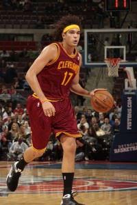 Anderson                  varejão é ala do Cleveland Cavaliers do NBA, principal liga de basquete do mundo. Foto: Divulgação