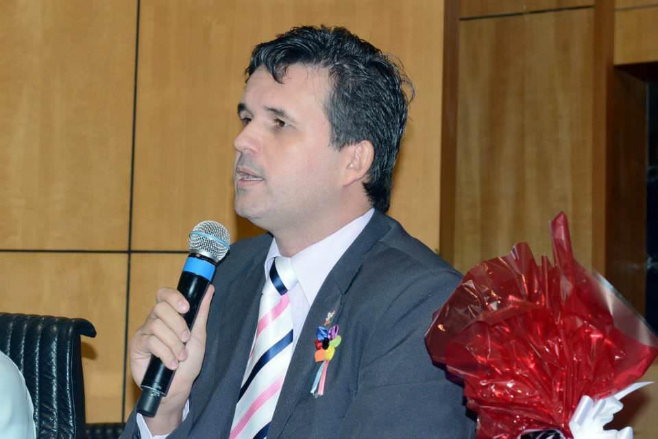 Toninho é militante do movimento LGBT. Foto: Arquivo Pessoal