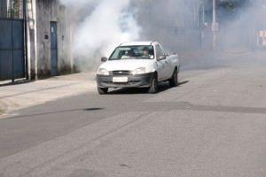 O carro fumacê percorrerá as praias de Bicanga, Manguinhos, Praia de Carapebus, Balneário de Carapebus, Jacaraípe e Nova Almeida. Foto: Divulgação PMS