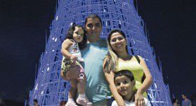 Alta frequência.O Parque da Cidade foi tomado pela população, no       período do Natal, a média de visitantes diários ultrapassou os 5 mil. Foto; Arquivo TN/Fábio Barcelos