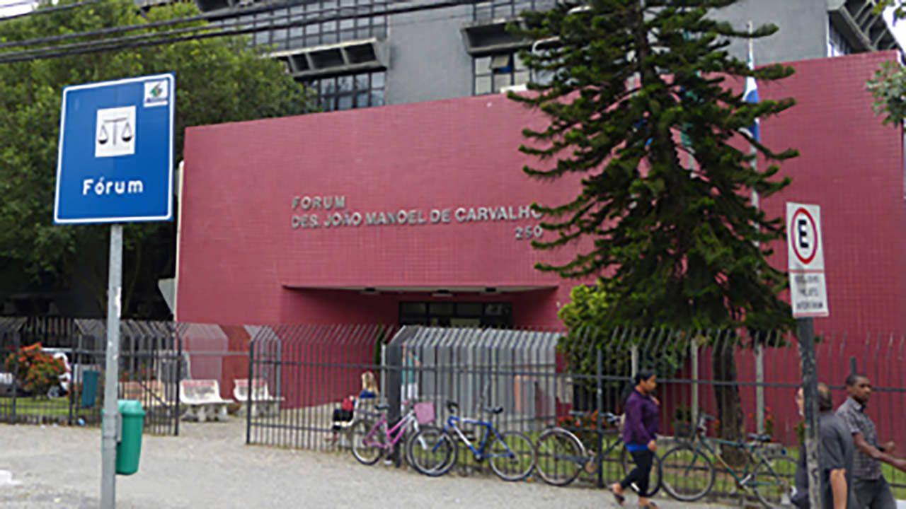 A decisão foi proferida no Fórum da Serra. Foto: Divulgação TJES