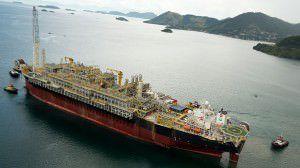 Explosão em navio-plataforma deixa pelo menos 14 feridos. Foto: Divulgação