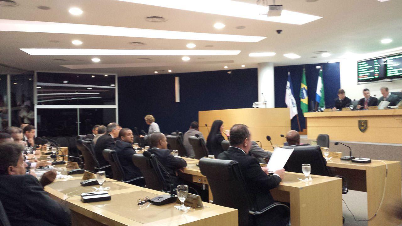 O orçamento para a Câmara em 2015 é de R$31,5 milhões. Vereadores prometem devolver R$1 milhão. Foto: Arquivo TN