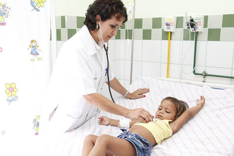 Dentre as vagas oferecidas há para pediatria. Foto: PMS