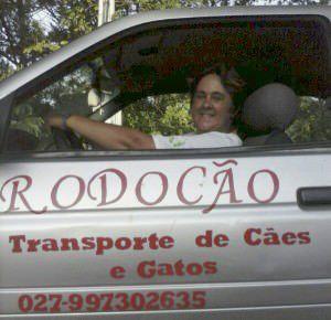 A Rodocão oferece transporte de cães e gatos em toda a Grande Vitória. Foto: Divulgação