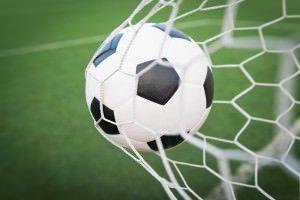 A bola entrou na rede 39 vezes na segunda rodada da Super Copa Sabadão. Foto: Divulgação