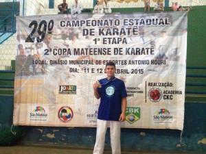 Bruno Conde trouxe para casa três medalhas: dois ouro e uma prata. Foto: Divulgação