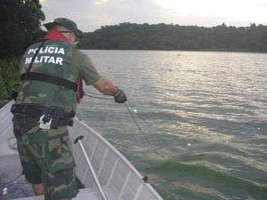 As redes foram apreendidas na tarde da última terça-feira. Foto: Divulgação Polícia Ambiental