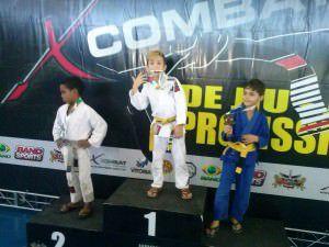 Pedro Henrique é o atual campeão brasileiro de Judô na categoria Infantil 9 anos peso pluma até 26kg. Foto: Divulgação
