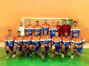O time da Serra Gaha goleou o Racing por 33x16. Foto: Divulgação