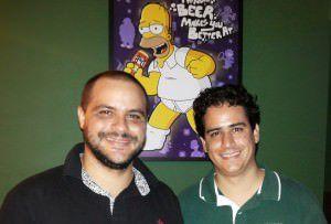 Os empreendedores Rafael Cosme e Fernando Vieira do Bar do Moe. Foto: Rafael Lustoza