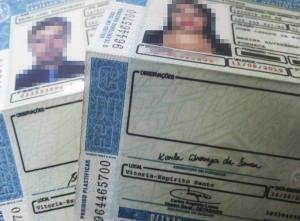 Um dos documentos necessarios para recorrer da multa é a copia da CNH do condutor. Foto: Arquivo TN