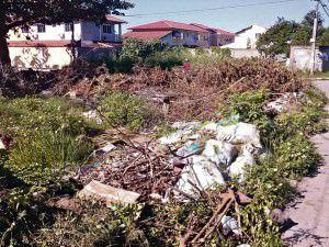 A rua santa luzia está virando um ponto viciado de descarte de lixo. Foto: Divulgação leitor
