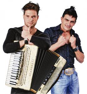 A dupla Donatto & Eduardo é uma das atrações da boate Usina. Foto: Divulgação