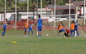 A estreia do time não foi como esperado pelo técnico Alex Passos. Foto: Fábio Barcelos