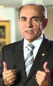 O deputado Marcelo Castro (PMDB-PI) é relator da Comissão de Reforma Política. Foto: Reprodução/YouTube