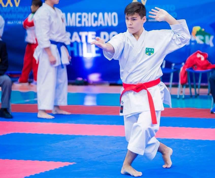 Bruno já participou de competições internacionais. Foto: Divulgação